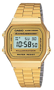 CASIO Classic Digital A168WG-9