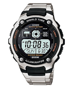 CASIO Youth Digital 200M AE-2000WD-1AV