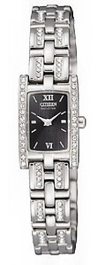 CITIZEN Eco-Drive Ladies Crystal Collection EG2351-55E