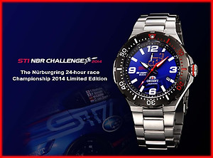 ORIENT x STI M-FORCE 200m Limited Edition 1500pcs EL07003D