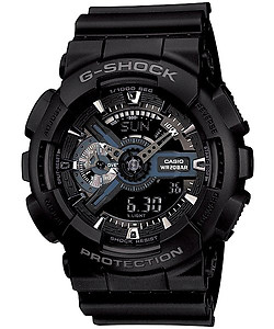 CASIO G-SHOCK Stealth Black GA-110-1B