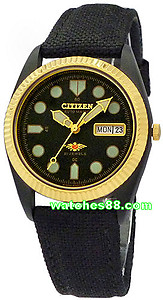 Citizen Classic Black Eagle Automatic NH2337-09E