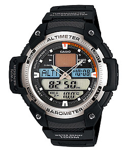 CASIO SPORTS GEAR Twin Sensor SGW-400H-1BVDR