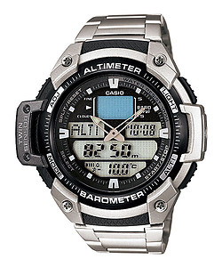 CASIO SPORTS GEAR Twin Sensor SGW-400HD-1BVDR