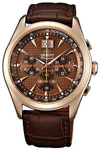 ORIENT Sporty Quartz Chronograph Sapphire Crystal Collection TV01001T
