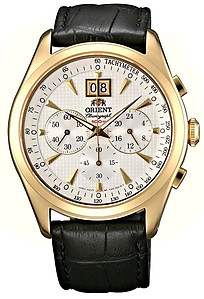 ORIENT Sporty Quartz Chronograph Sapphire Crystal Collection TV01002W