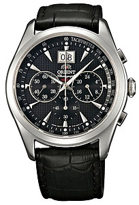ORIENT Sporty Quartz Chronograph Sapphire Crystal Collection TV01004B