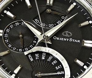 ORIENT STAR Classic Power Reserve Retrograde Automatic Collection SDE00002B ( WZ0011DE)