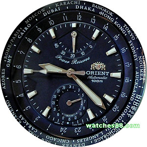 ORIENT Tourist GMT World-Time Power Reserve Automatic CFA02002D