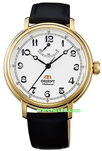 ORIENT Monarch Vintage-Inspired Hand Winding Power Reserve FDD03001W