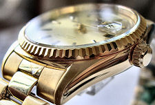 Original stainless steel bracelet for ORIENT Automatic Rolex-style Collection 2EV03002C and Etc. Color: Gold