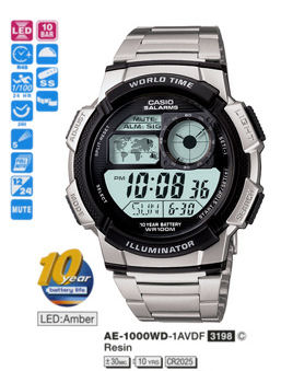 Casio Sporty Digital AE-1000WD-1AV