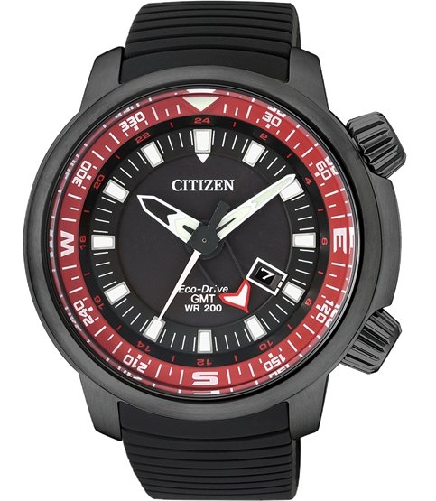 44e407bf7 New Citizen Promaster Eco-Drive Land GMT 200M - Seiko & Citizen ...