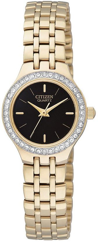 Citizen Lady Swarovski Crystal Quartz EJ5934-59A
