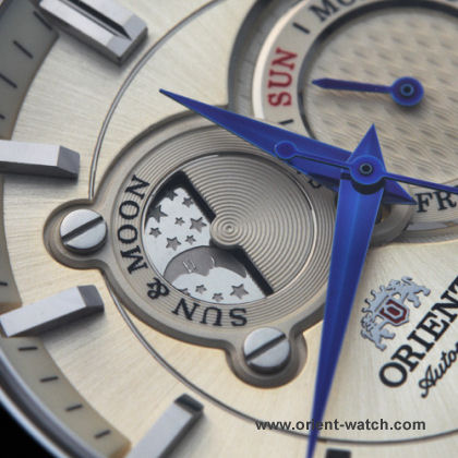 ORIENT Sun & Moon Classic Automatic Sapphire Collection ET0P002W