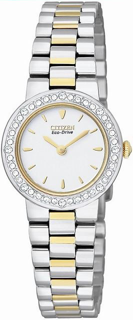 CITIZEN Eco-Drive Ladies Swarovski® Crystal Collection EW9824-53A