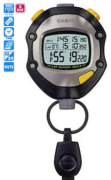 Casio Digital Stopwatch HS-70W-1DF