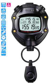 Casio Digital Stopwatch HS-80TW-1DF