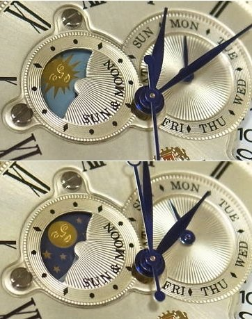 ORIENT 65th Anniversary Limited Edition Sun & Moon 3000pcs SET0T005Y