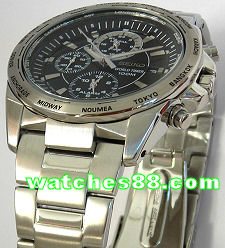 SEIKO Criteria World Timer Alarm Multi-Function SPL017