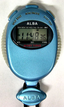 ALBA Digital Stopwatch SW01-008E - 5 units